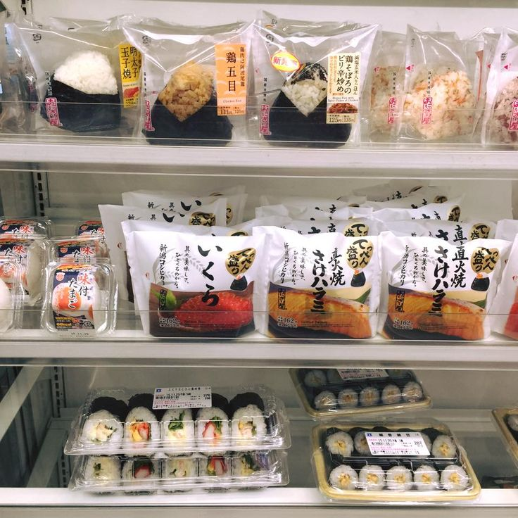 "japanloverme: ""  Onigiri for breakfast. What's your favorite onigiri snack? ❤ """