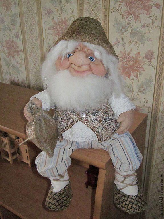 Купить Домовой Анисий - домовой, домовенок, домовушка, домовые, кукла ручной работы, кукла в подарок
