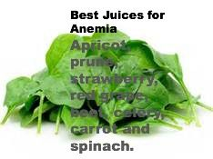 Best Juices for Anemia: Apricot, prune, strawberry, red grape, beet, celery, carrot and spinach www.catherinecarrigan.com