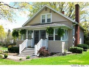 $219k 17 Highland Street, Skaneateles NY . Beautiful Village Bungalow. 4 bed, 2 bath on quiet street. Bright & sunny rooms, oak hardwood floors on 1st floor, maple hardwoods on 2nd. 1st floor bedrooms currently used as office and playroom. Wood burning fireplace, built-in bookshelves, many closets. Short walk to the lake, restaurants and shopping. Mature landscaping and great backyard. A true Village charmer!: Wood Burning Fireplaces, Oak Hardwood, Hardwood Floors, Maple Hardwood, Restaurant