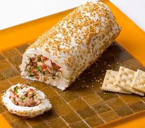 rollo de atun con queso crema