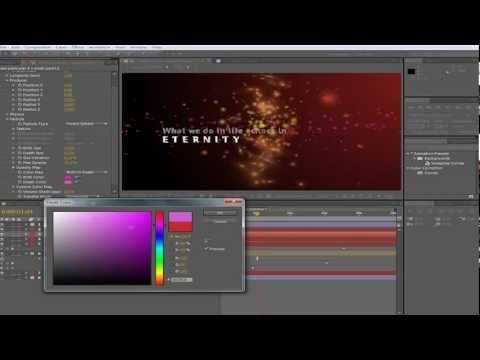 Particle world after effects download.