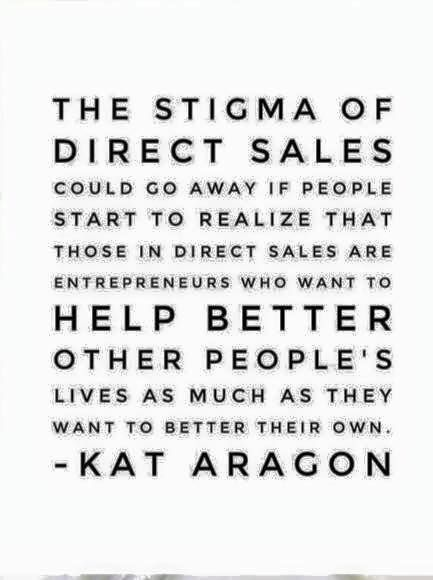 Over time I believe direct sales will become more mainstream.  There is too much opportunity and need for flexibility and work life balance.  Rodan + Fields provides me with that flexibility and I'm so thankful I got over myself and was open to the opportunity.  www.pajamamamarketer.com