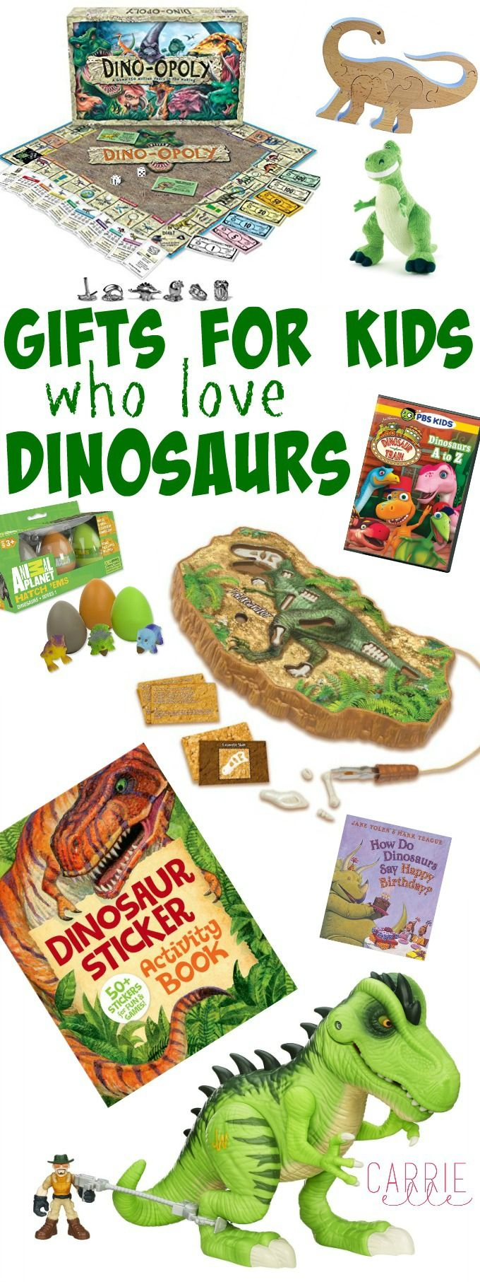 Gift Ideas for Little Dinosaur Lovers - all the cutest dinosaur gift ideas, from books to toys to shows!