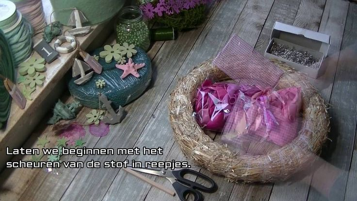 Geboortekrans, roze ballonnen voor een meisje