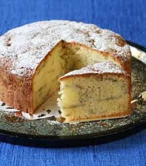 Lebanese Banana Cake