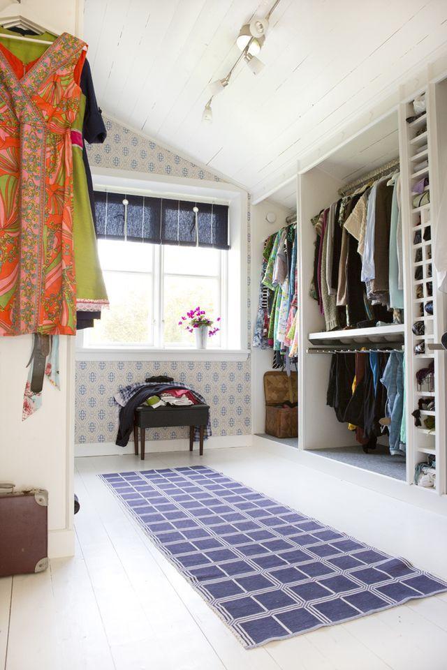 Från ett övergivet rum till en klädkammare