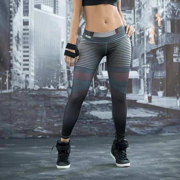 Colombian sports Leggings NEW!!Colombian work out leggings!!! One size fits most small and mediums. Perfect for yoga or crossfit ! The leggings are 100% Colombian made. - cool fit-humidity control -uv protection -anti peeling -perfect fit- supplex material.  NO TRADES  Fiber leggins  Pants Leggings