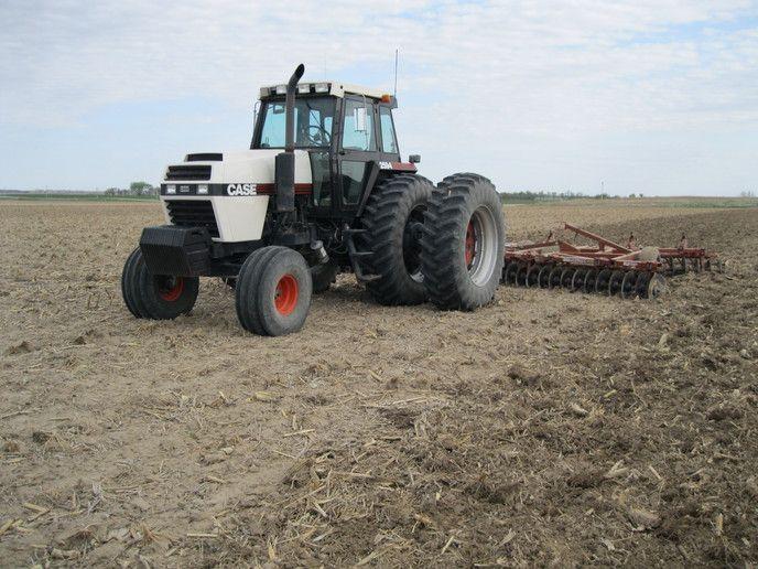 F Ba B Fd Ee E Bf on Case Ih 2394 Tractor