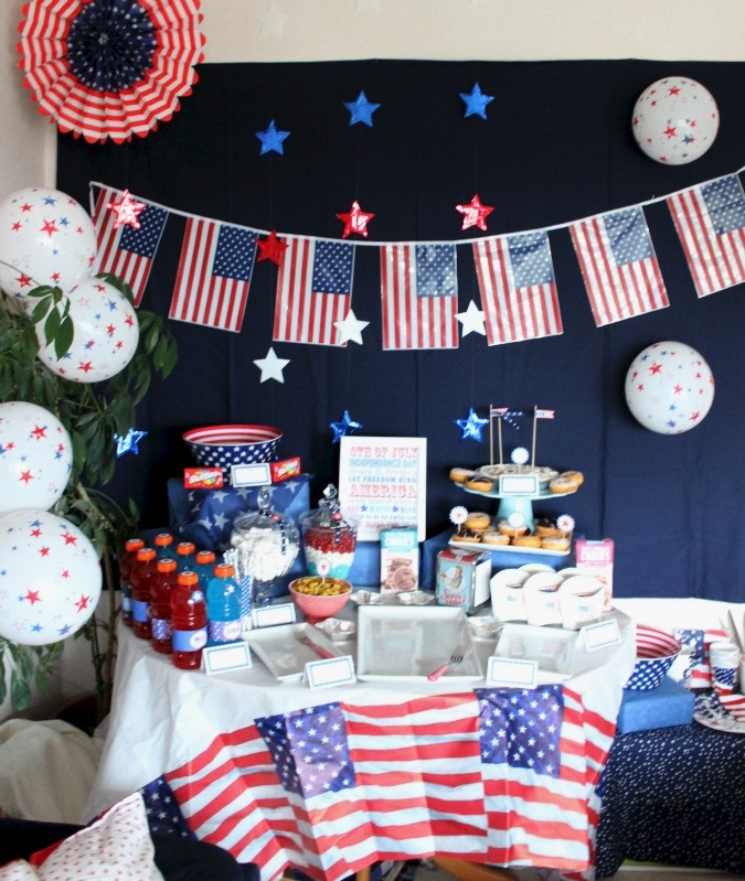 Best 25 usa party ideas on pinterest for American decoration