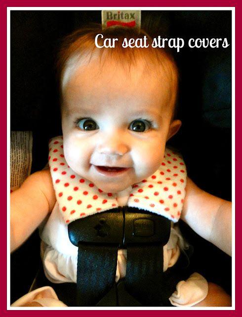 Rachel's Nest: Car seat strap covers