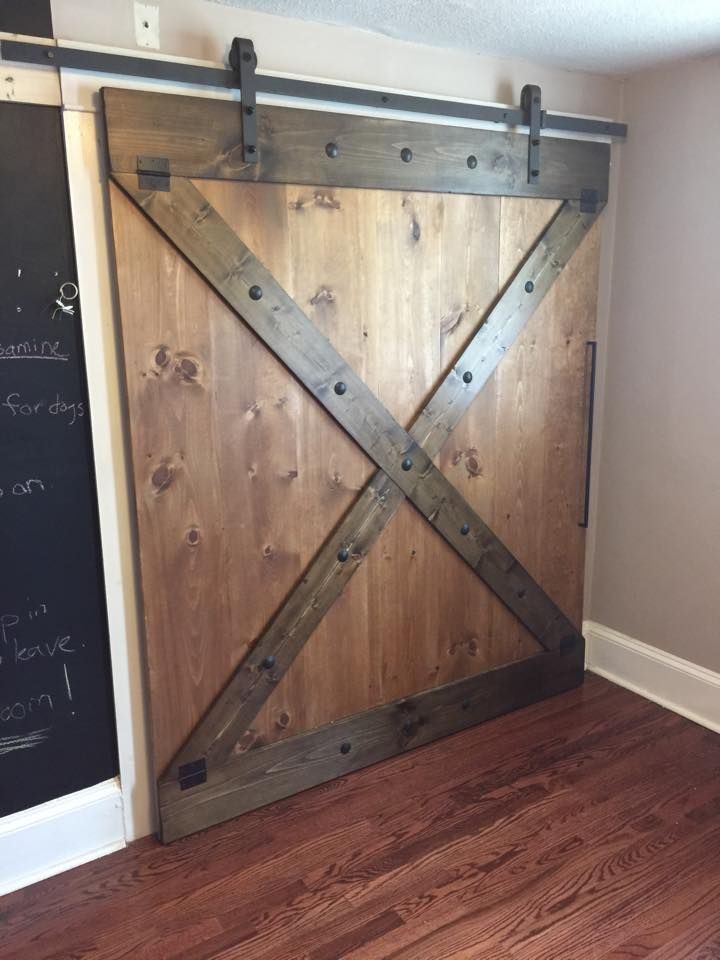 Rustic sliding barn doors at affordable prices large 39 x for Rustic hardware barn doors