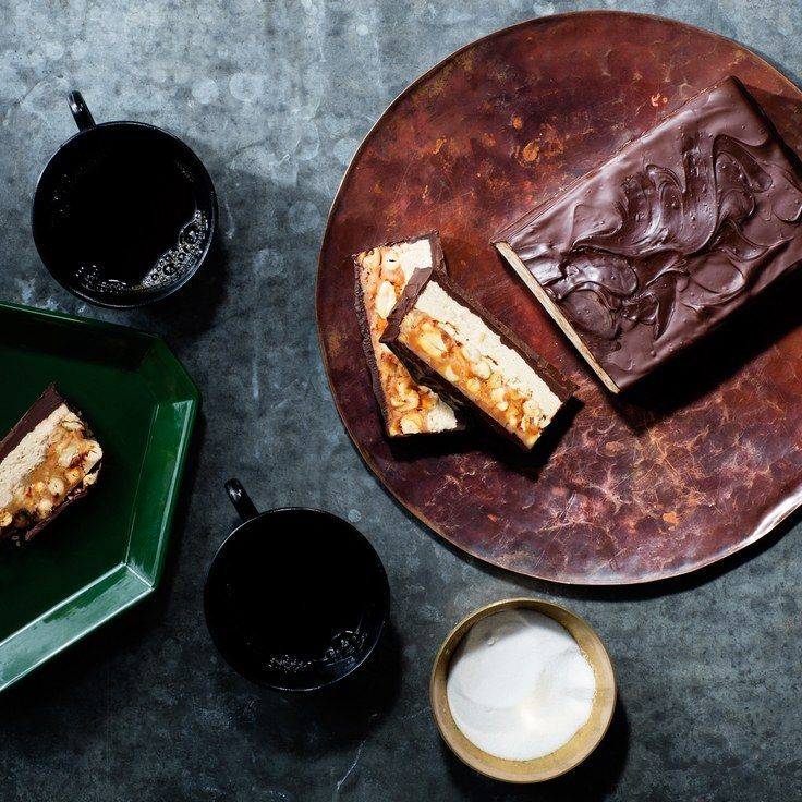Giant Chocolate Candy Bar With Peanuts and Nougat