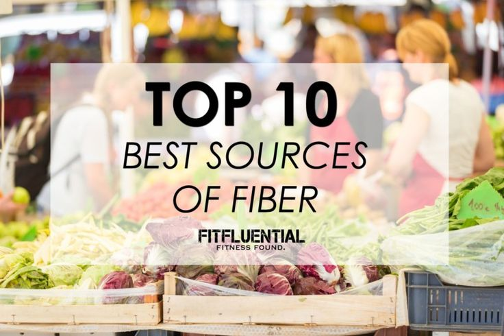 Best Sources of Fiber
