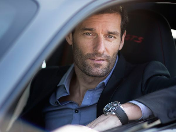 Porsche Racer Mark Webber to Endorse Chopard Timepieces