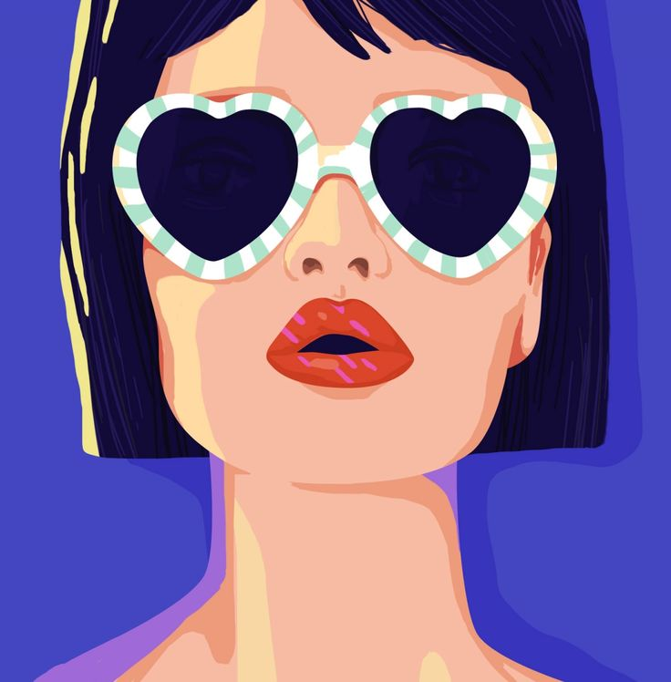 Who run the world? Colourful portraits of Girls by illustrator Petra Eriksson | Creative Boom