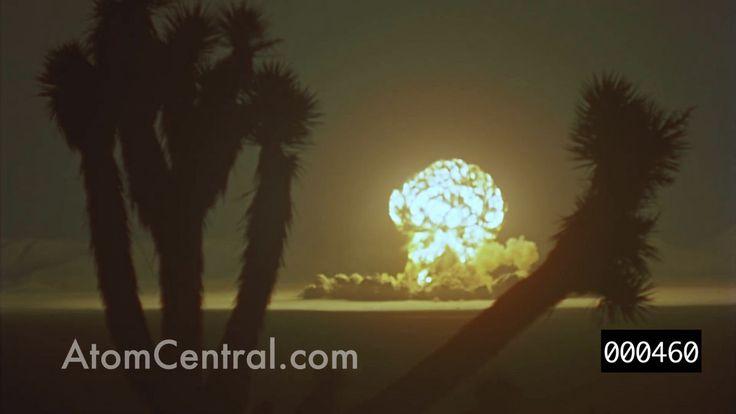 これまで未公開だった核実験場で爆発実験の様子を収めた貴重なムービーが公開 - GIGAZINE