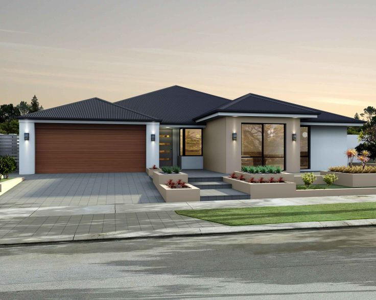 Front Elevation Car Garage Door : Best smart home elevations images on pinterest facade