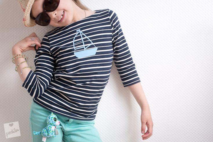 E-Book »LeBretöngchen« – Ein Basic-Shirt mit Segelboot (Plotterdatei gratis!)