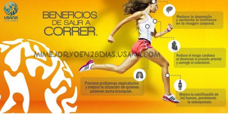 #MiMejorYoEn28Dias #MiMejorYoEn28Días beneficios de correr #usana #reset #saludable