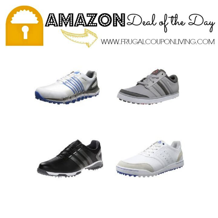 Amazon Deal of the Day: Up to 60% Off Adidas Men\u0027s Golf Shoes!