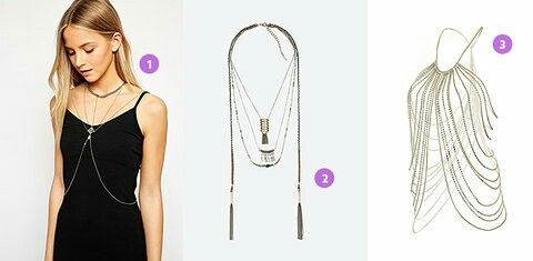Looong body necklace