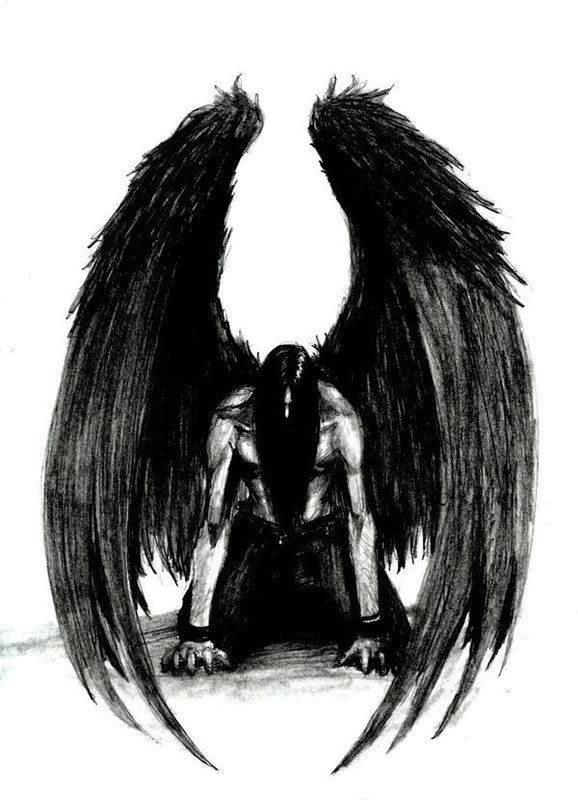 For those who do not want a large piece but would still like the black angel wings tattoo designs, the full effect, you may place a small one at the corner of each shoulder. Description from bodygrafixtattoo.com. I searched for this on bing.com/images