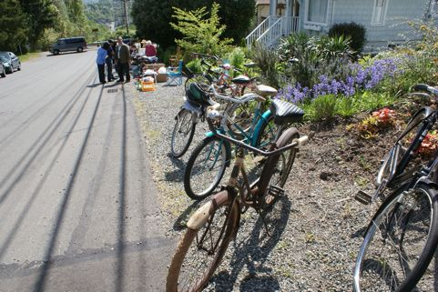 Check out the mother of all garage sales at the West Seattle community garage sale on May 12, 2012.