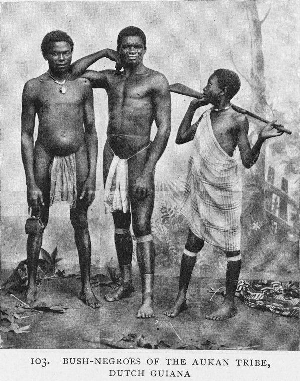 Marrons, Aukaners, Suriname