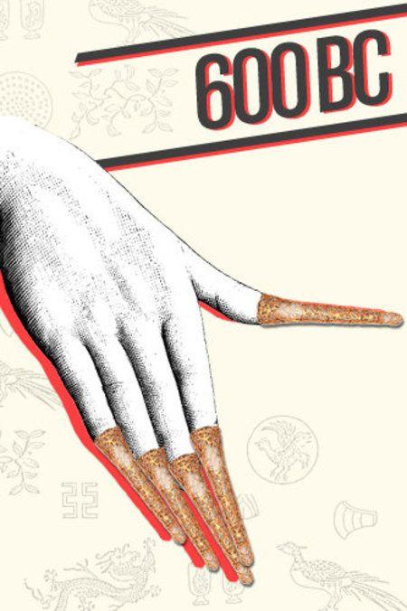 Fun History of Nail Polish! #nailart #nails - bellashoot.com