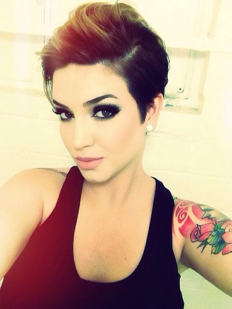She inspired me to get a Pixie Cut ♡ - stillglamorus