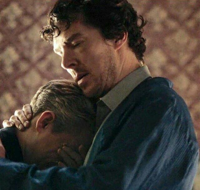 All Sherlock fans lost their minds at exactly the same time. THIS. MOMENT. RIGHT. HERE. Moffat and Gattis, what have you done?