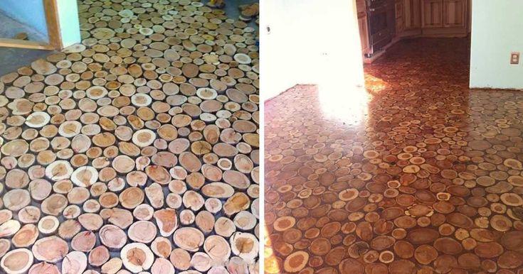 Inspirace – po domácku vyrobená krásná dřevěná podlaha