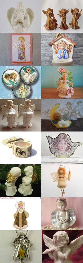 Angels We Have Heard on High  by Julie Duvall on Etsy--Pinned with TreasuryPin.com