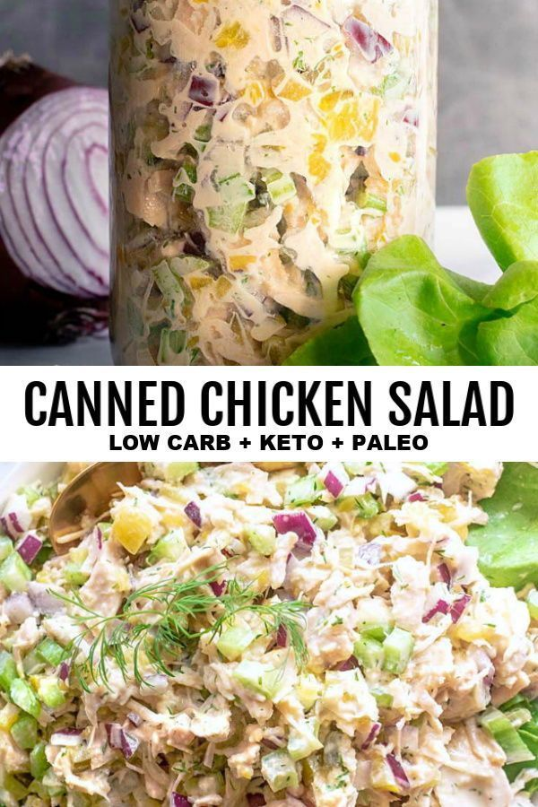 Chicken Salad Recipe With Canned Chicken