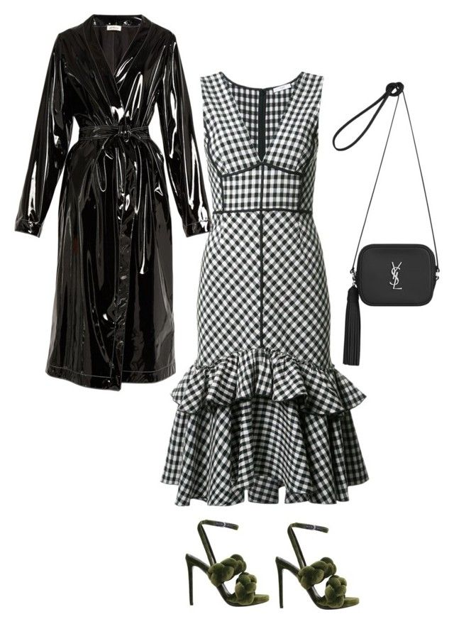 """""""Untitled #619"""" by szudi on Polyvore featuring Marco de Vincenzo, Attico, Yves Saint Laurent and Tome"""