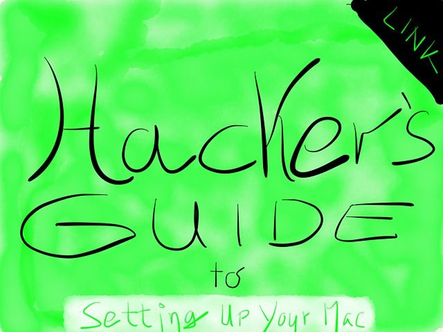 Link: Hacker's Guide to setting up your Mac. Super nerdy, super cool. I enjoyed it.