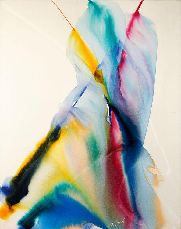 paul jenkins   Paul Jenkins   D. Wigmore Fine Art