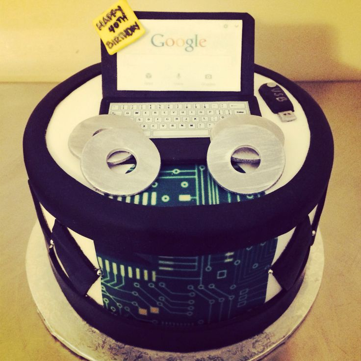 25 Best Ideas About Computer Cake On Pinterest: Birthday Party Ideas