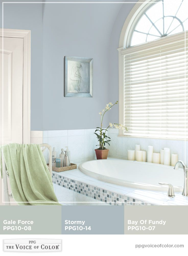 5 Fresh Clean And Spring Worthy Bathroom Colors: Peaceful Bathroom Paint Colors! These Colors Are A Part Of