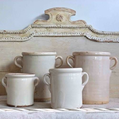 ANTIQUE ITALIAN CONFIT POTS from Georgia Lacey