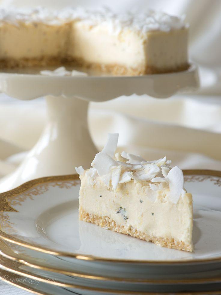 Raw Lemon Thyme Pine Nut Cheesecake Recipe @Rawmazing.com