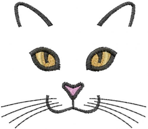 cat embroidery patterns | Machine Embroidery Downloads: Designs & Digitizing Services from ...