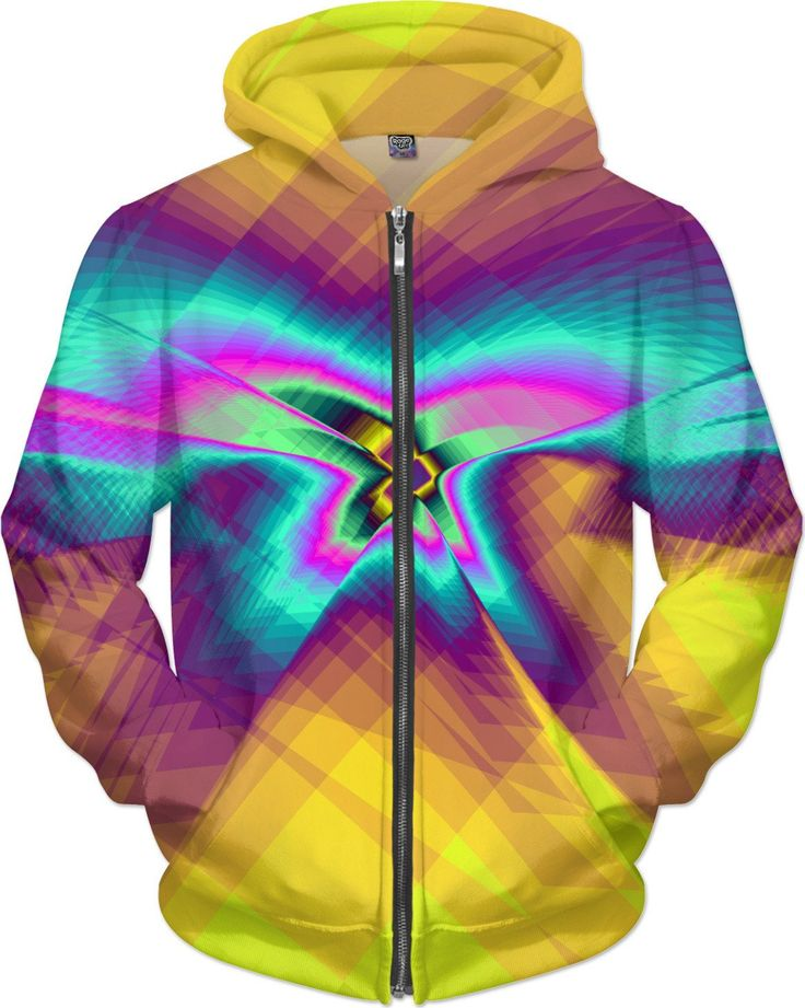 Erratic Flight (Yellow) Hoodie by Terrella and other items featuring this design are available at https://www.rageon.com/products/erratic-flight-yellow?aff=BSDc