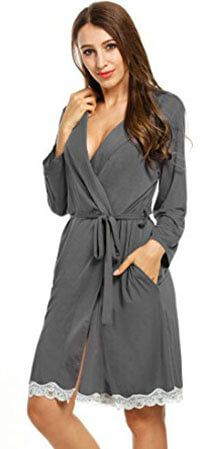 Avidlove Women's Soft Kimono Bathrobe Sleepwear