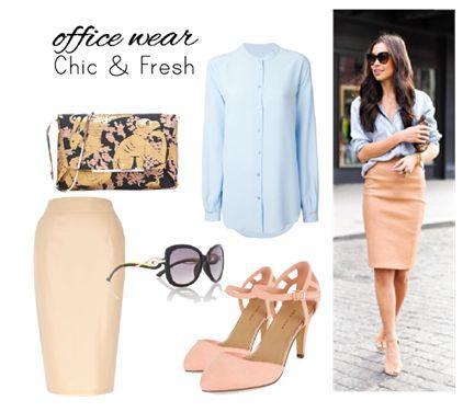 Office wear / Fresh & Chic  by Josefinaelizalde on Set That -