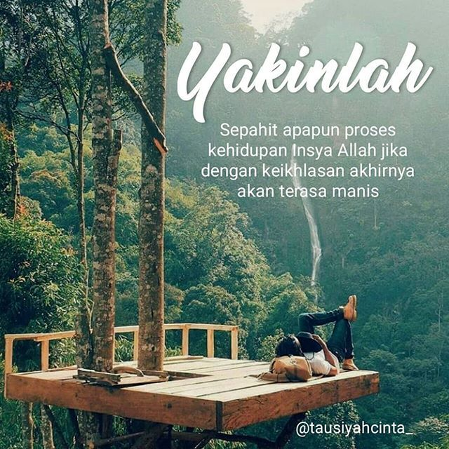 Yakinlah . Follow @hijrahcinta_ Follow @hijrahcinta_ . . the_beautiful_destinations http://ift.tt/2f12zSN