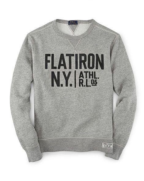 144191a57c7 Fleece Graphic Sweatshirt - Polo Ralph Lauren Sweatshirts - RalphLauren.com  | Dope sweaters | Mens designer sweatshirts, Polo ralph lauren sweatshirt,  ...
