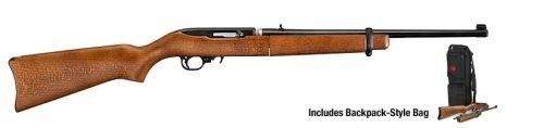 FAMILY:10/22 Series MODEL:10/22 Takedown TYPE:Rifle ACTION:Semi-Auto FINISH:Blue STOCK/FRAME:Wood Stock