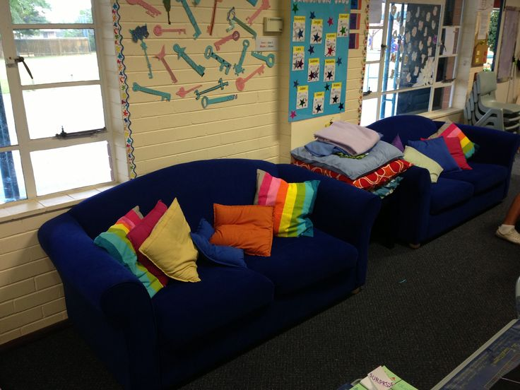 Couches In Our Classroom My Classroom Pinterest